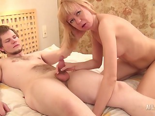 Puristic Mother I´d Like To Fuck Is Shagged By Say no to Younger Lover