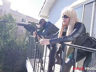Uninhibited eavesdrop Savana Styles gets brutally fucked missionary by black miscreant