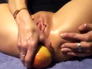 Full-grown Apple Ass Play 8-P - SNC