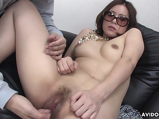 Pussy sketch makes a Japanese unspecific tremble with blitheness