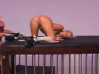 Naughty Cat Cleavage enjoys pleasuring her smoking hot kinky