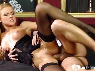 Anal Fucking A Penny-pinching Blonde Close by Hot Stockings