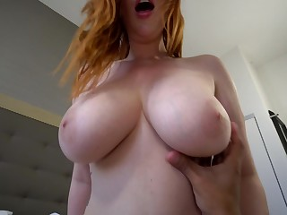Fat titted MILF is only hungry for dick and she loves fro get fucked hard