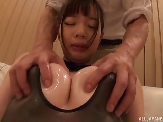 Strong anal pleasures for this domineer Japan woman