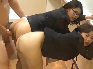 Japanese Teens Gets Fucked By Horny Guy